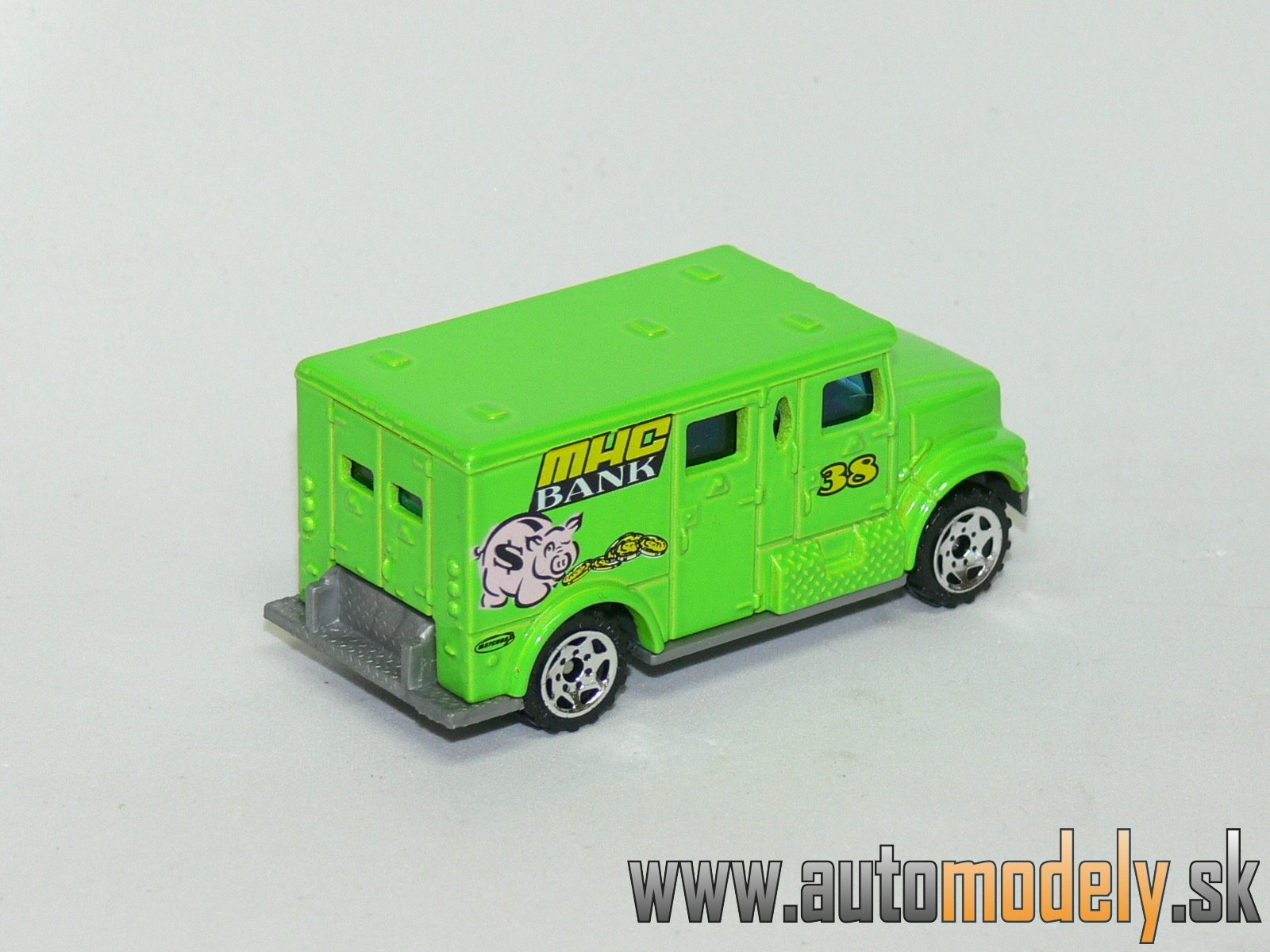 Matchbox - International Armored Car Truck - MHC BANK