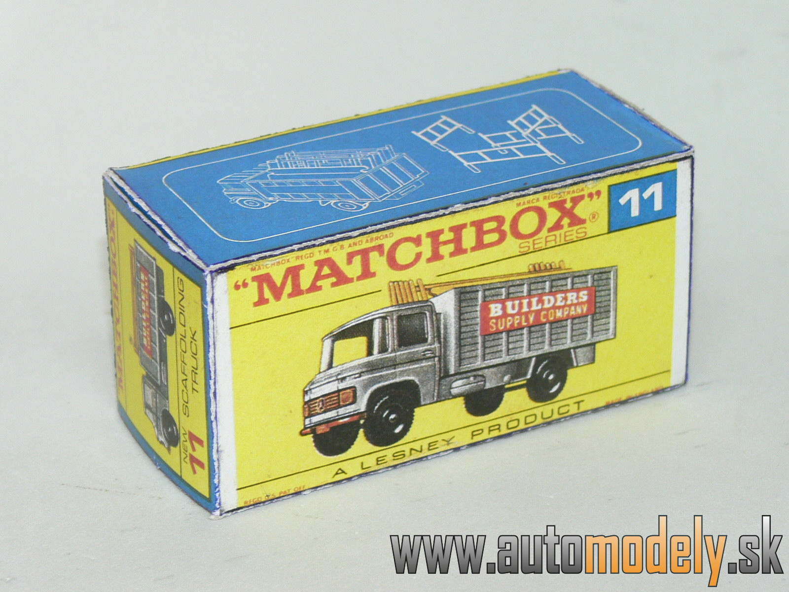 Replika Box - Matchbox Regular Wheels - No.11 Scaffolding Truck
