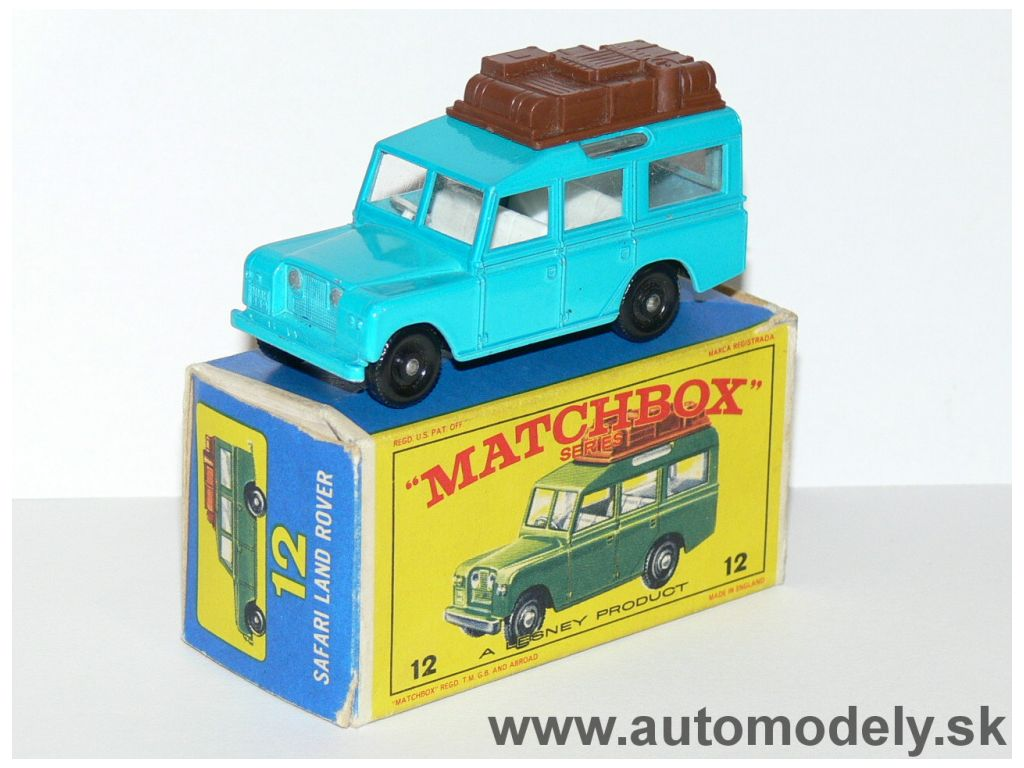 Matchbox Regular No.12 - Safari Land Rover
