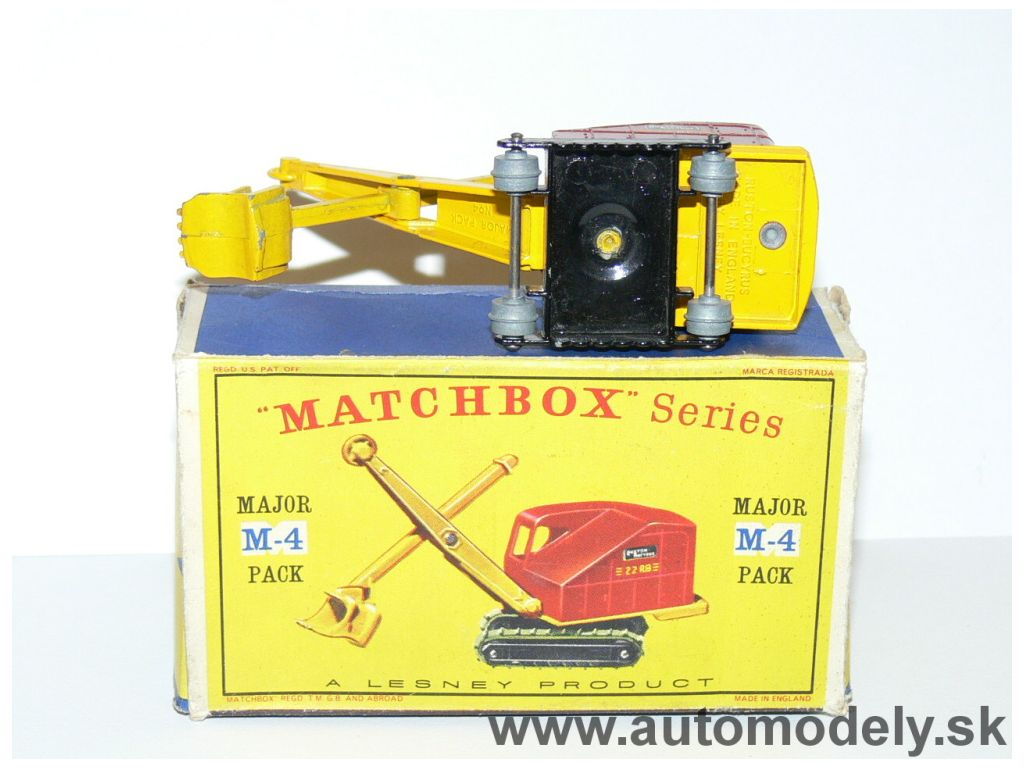 Matchbox Major Pack M-4 Buston-Bucyrus