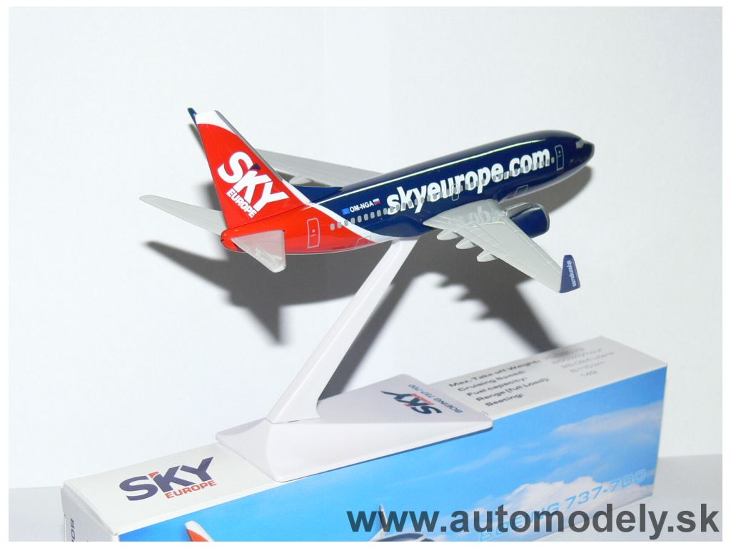 "Boeing 737-700  "" Sky Europe Airlines "" - 1:200"