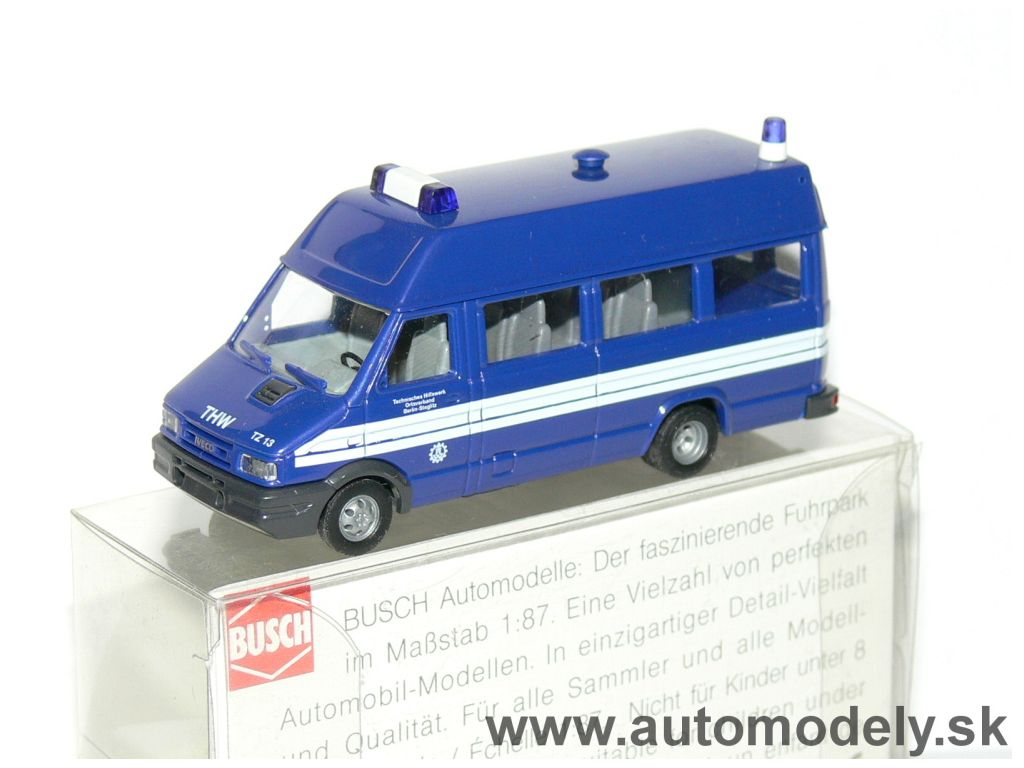 "Busch - IVECO Daily ""THW"" - 1:87"