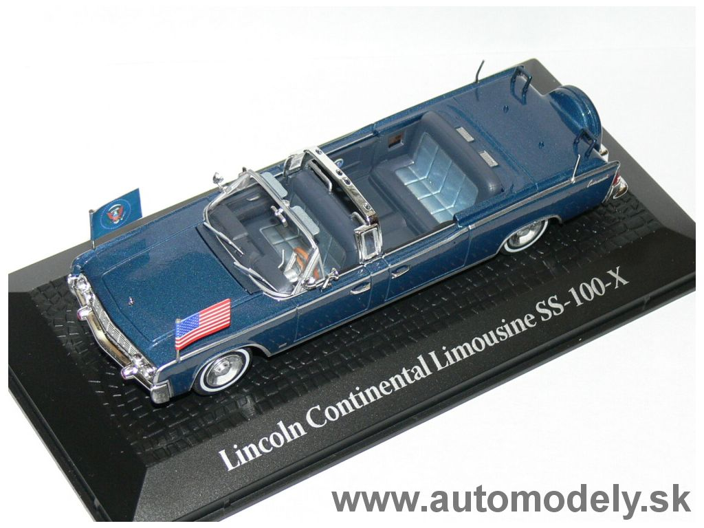 Lincoln Continental Limousine SS-100-X (Presidents car) - 1:43
