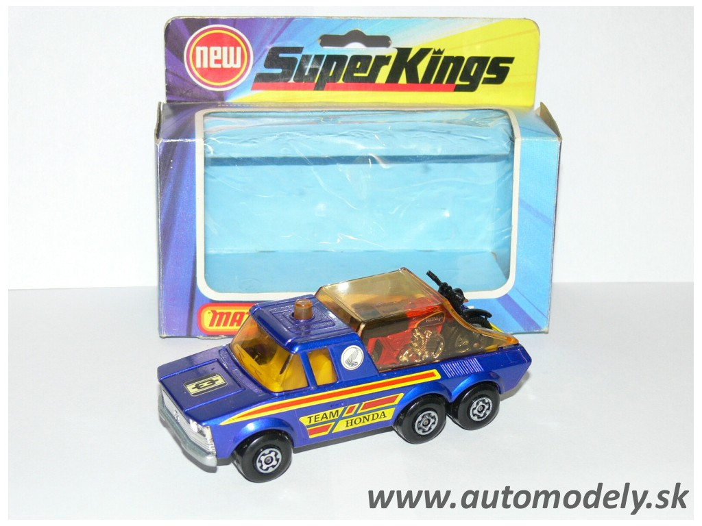 Matchbox Super Kings K-6 Motor-Cycle Transporter