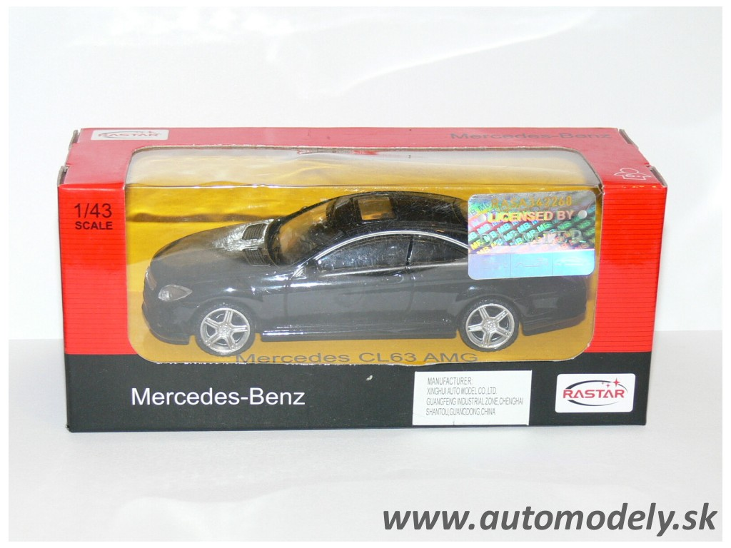 RaStar - Mercedes Benz CL63 AMG - 1:43