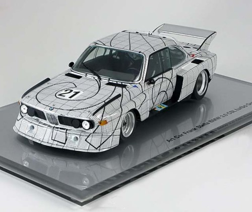 Minichamps - BMW 3,0 CSL No.21, Le Mans Frank Stella Art Car - 1:18