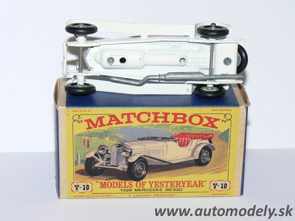 Matchbox Yesteryear Y-10 Mercedes Benz 1928 36/220