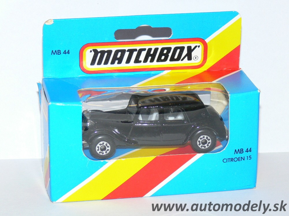 Matchbox MB 44 - Citroen 15 - 1:60