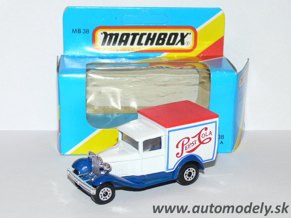 "Matchbox MB 38 - Ford Model A ""PEPSI COLA"" 1:60"