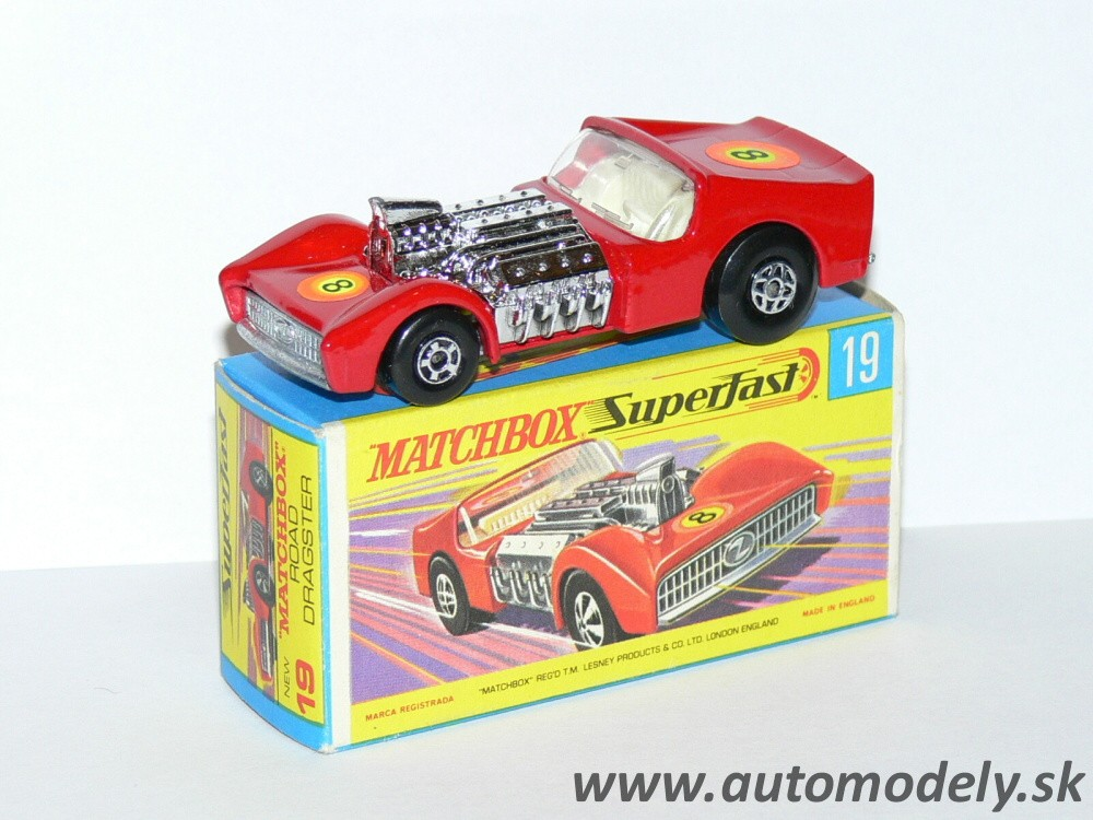 Matchbox Superfast No.19 - Road Dragster