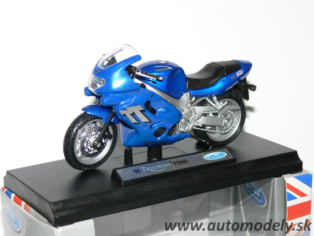 Triumph 2002 TT600 - 1:18 Welly