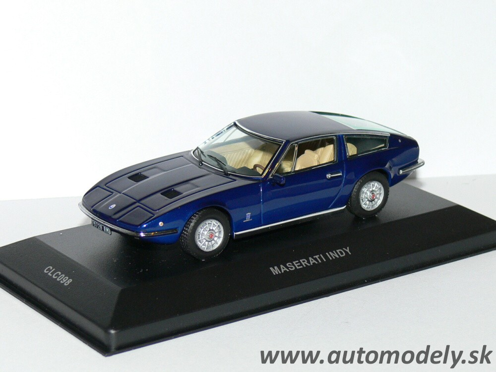 Ixo - Maserati Indy ( Dark Blue Metallic ) 1:43