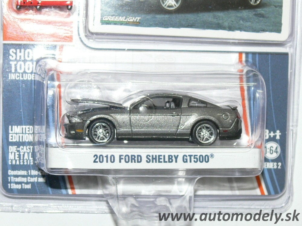 GreenLight - 2010 Ford Shelby GT500 - 1:64