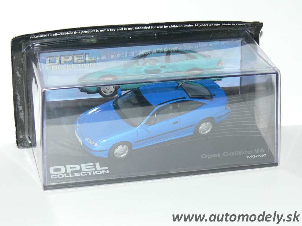 Opel Calibra V6 ( 1993-1997 ) 1:43 Opel Collection