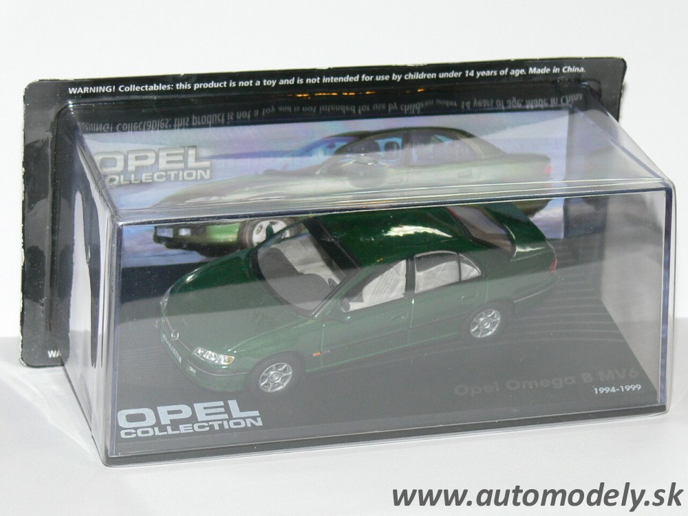 Opel Omega B MV6 (1994-1999) - 1:43 Opel Collection