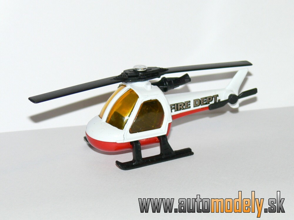 Matchbox - Helicopter FIRE DEPARTMENT - 1:110
