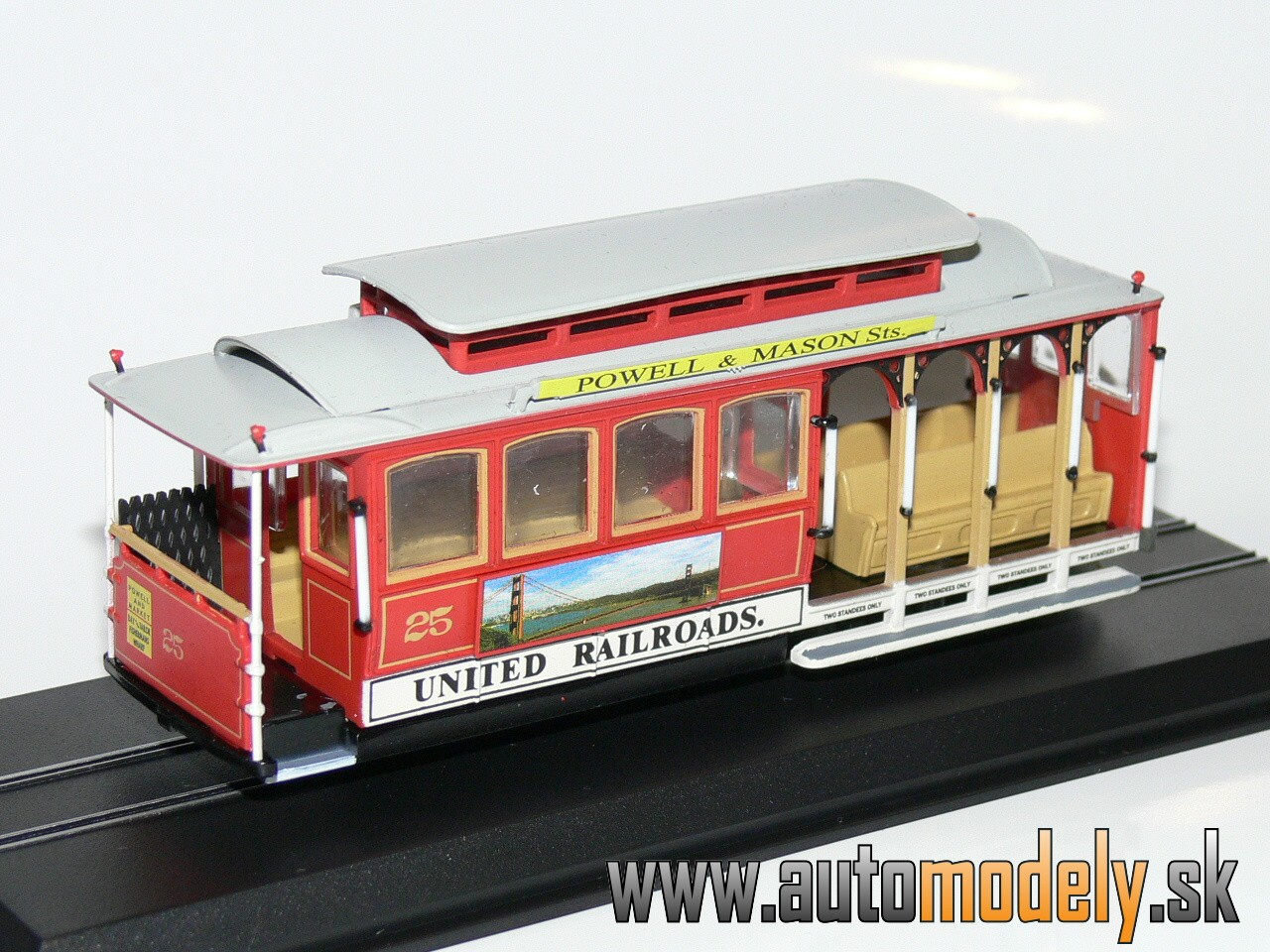 Cable Car (Ferries & Cliff) San Francisco 1888-1890 - 1:87