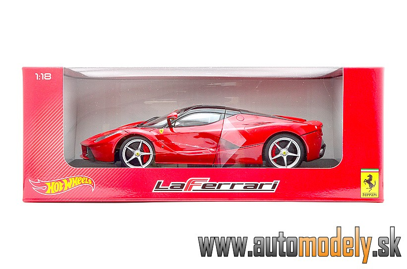 Hotwheels - Ferrari LaFerrari (RED) - 1:18
