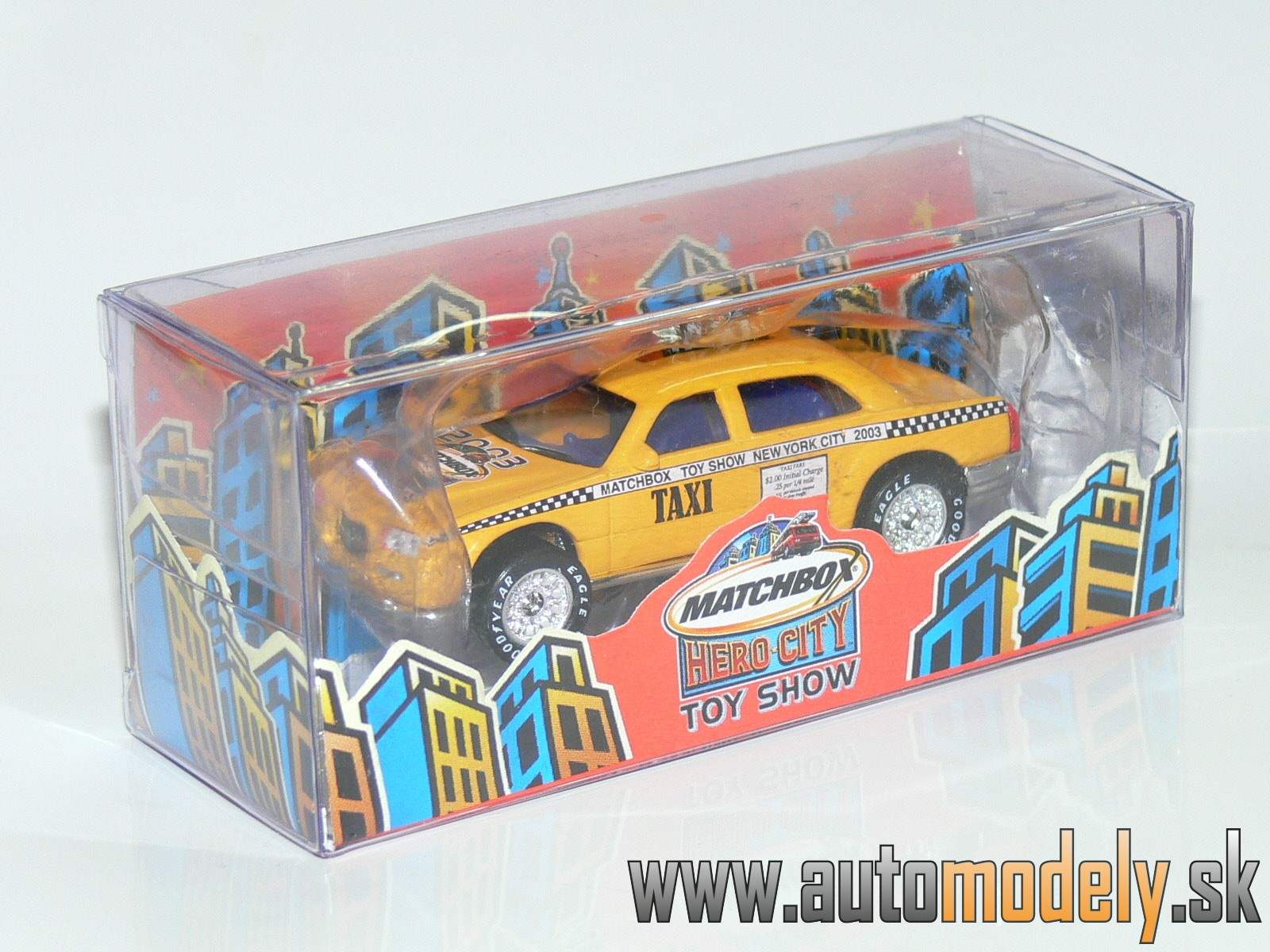 Matchbox Premiere - TOY SHOW NEW YORK 2003 - Taxi Cab