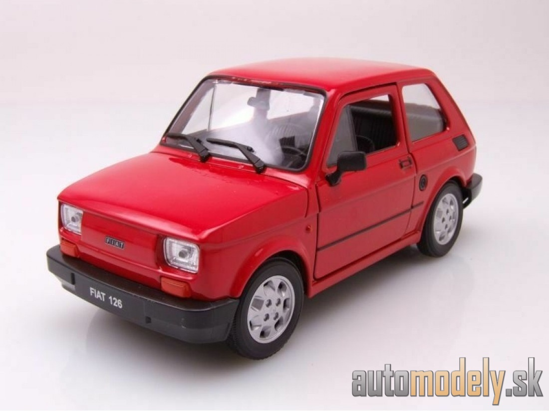 Welly - Fiat 126 1972 - 1:24