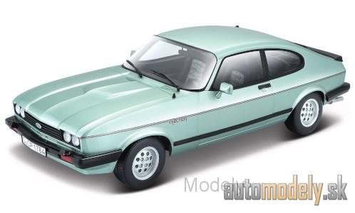 1982-1:24 Bburago   *NEW* Ford Capri MK III 2.8 Injection metallic-hellgrün