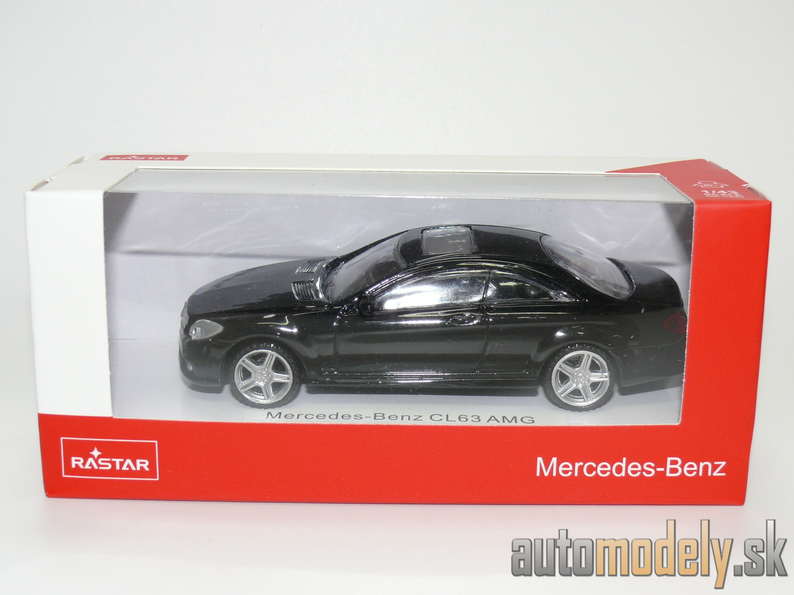 Rastar - Mercedes-Benz CL63 AMG - 1:43