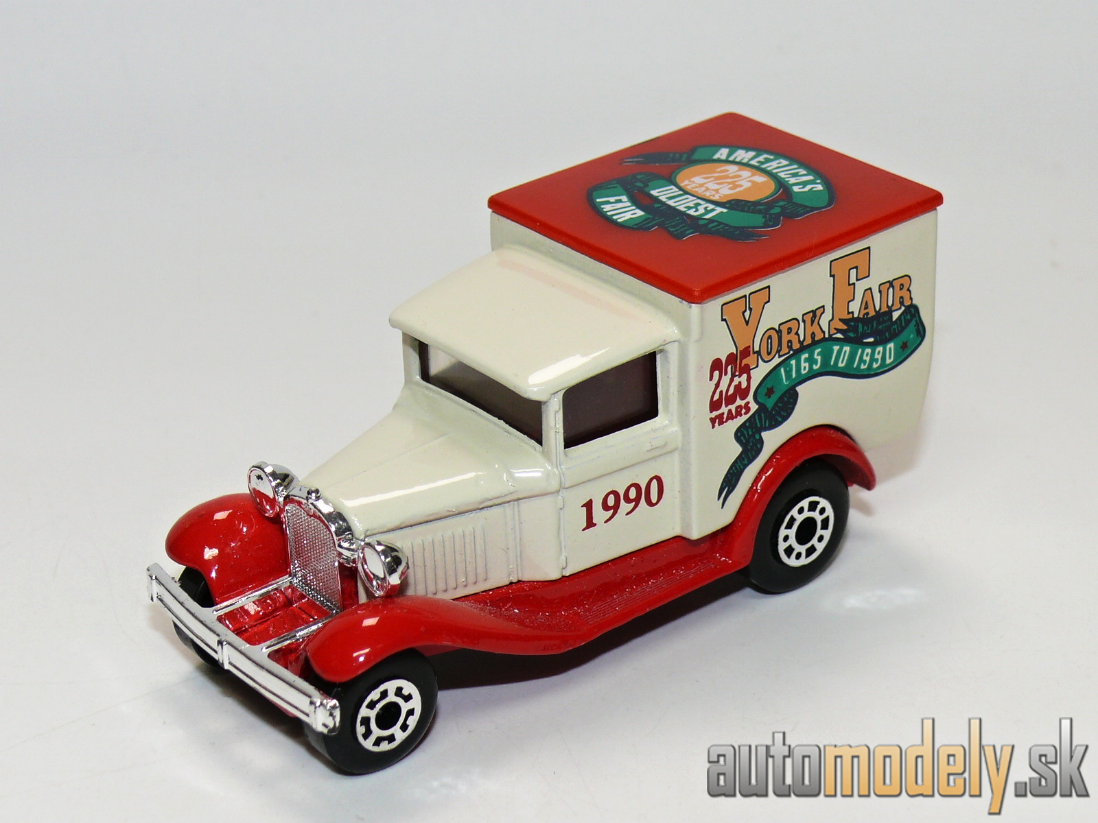 "Matchbox - Model A Ford ""York Fair 1990"""