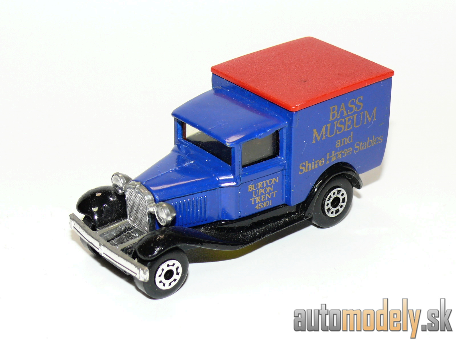 "Matchbox - Model A Ford ""Bass Museum And Shire Horse Stables"""