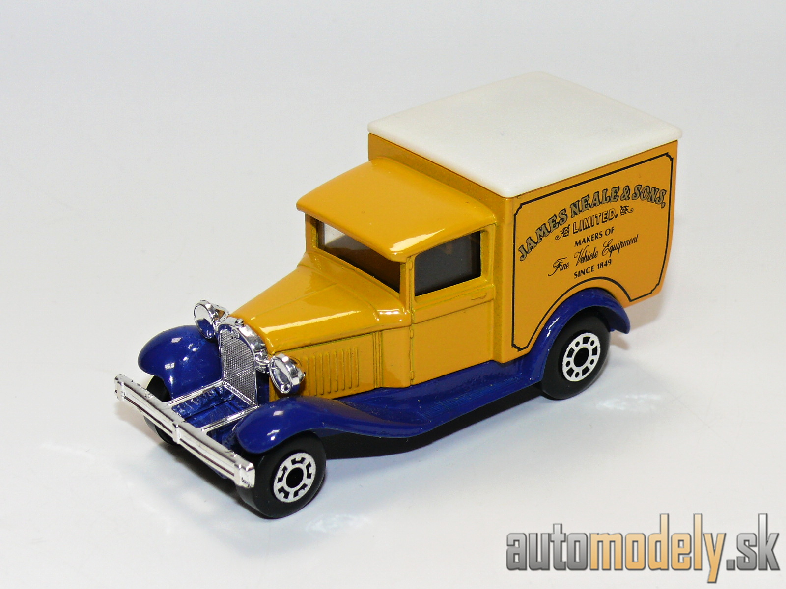 "Matchbox - Model A Ford ""James Neale & Sons Limited Makers Of Fine Vehicle Equipment Since 1849"""