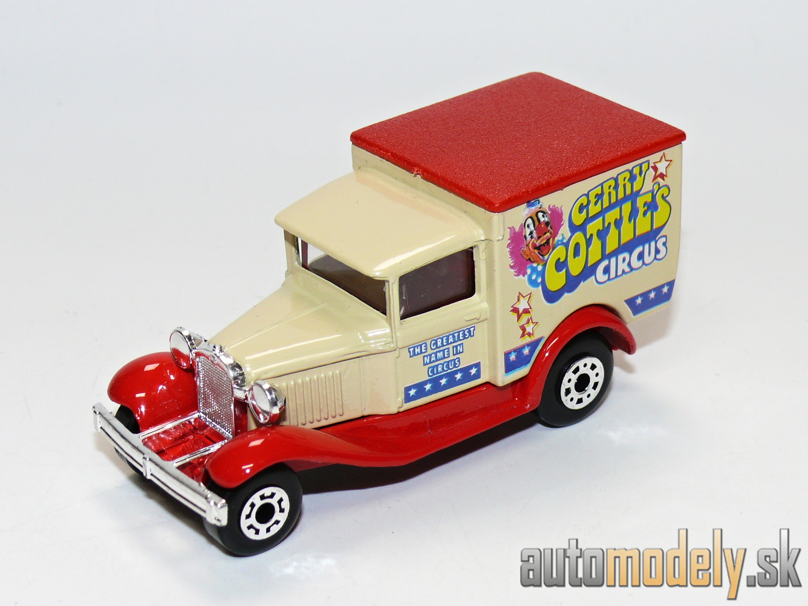 "Matchbox - Model A Ford ""Gerry Cottle's Circus"