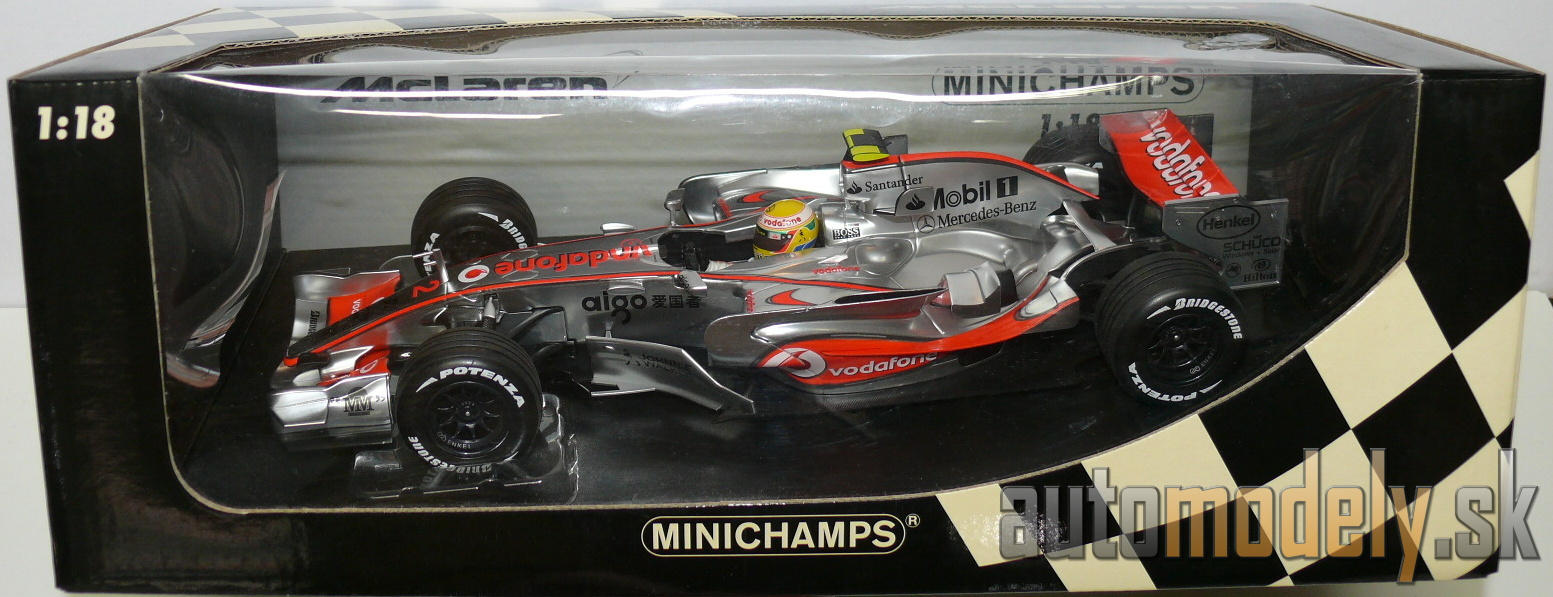 Minichamps - Vodafone McLaren Mercedes MP 4-22 L. Hamilton Showcar 2007 - 1:18