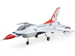 E-flite F-16 Thunderbirds 0.8m SAFE Select BNF Basic