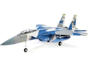 E-flite F-15 Eagle 0.7m SAFE Select BNF Basic