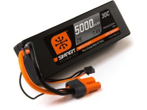 Spektrum Smart LiPo 7.4V 5000mAh 30C HC IC5