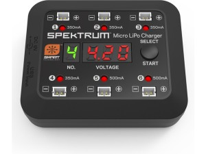 Spektrum Smart nabíječ Micro 6-port DC/USB