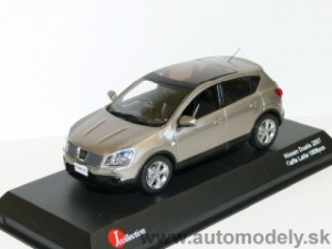 "J-Collection - Nissan Dualis 2007 ""QASHQAI"" Caffe Latte - 1:43"