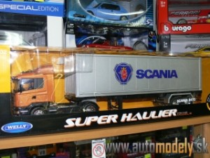 Welly - Scania R470 Kamión s návesom - 1:32