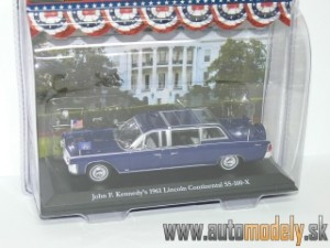 GreenLight - 1961 Lincoln Continental SS-100-X Presidential Limos - John F. Kennedy - 1:43