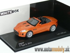 WhiteBox - Jaguar F-Type S (Metallic Orange) - 1:43