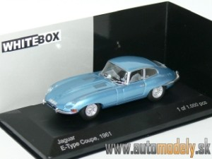 WhiteBox - Jaguar E-Type Coupe (Metallic Blue) - 1:43