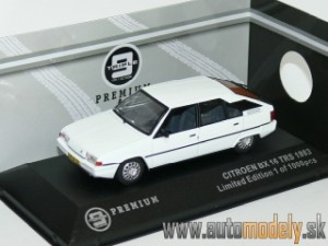 Triple9 - Citroen BX 16 TRS 1983 White - 1:43