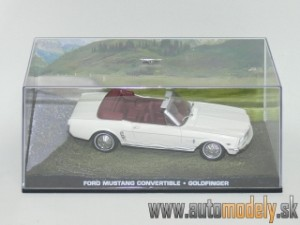 "James Bond 007 - Ford Mustang Convertible "" Goldfinger "" - 1:43"