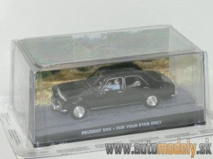 James Bond 007 - Peugeot 504 - For Your Eyes Only - 1:43