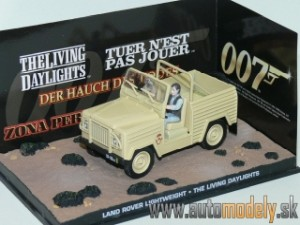 "James Bond 007 - Land Rover ""The Living Daylights"" - 1:43"