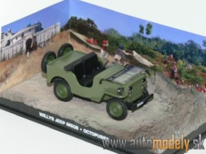 Willys Jeep M606 - Octopussy - James Bond 007 - 1:43