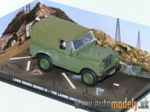 James Bond 007 - Land Rover III - The Living Daylights - 1:43