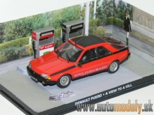 James Bond 007 - Renault Fuego - A View To A Kill - 1:43