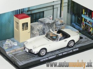 James Bond 007 - Toyota 2000GT - You Only Live Twice - 1:43