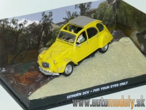 James Bond 007 - Citroen 2CV - For Your Eyes Only - 1:43