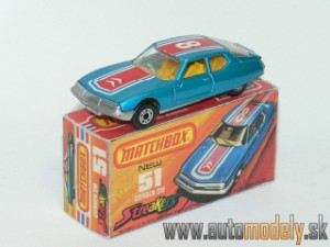 Matchbox Superfast No.51 - Citroen SM